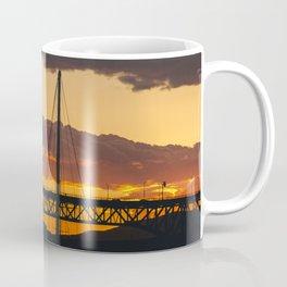 Vancouver Sunset sky textures Coffee Mug