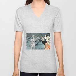 There's Just No Privacy Anymore Unisex V-Neck