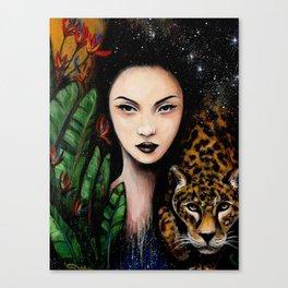 Fierce Beauty Canvas Print