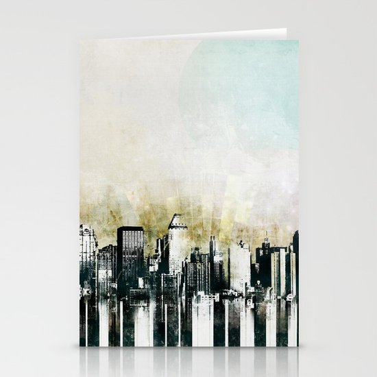 Music of The City Stationery Cards