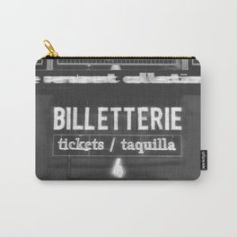 Billetterie Carry-All Pouch