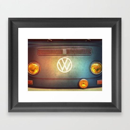 Volkswagen T2a Framed Art Print