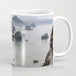 Rock Formations Around Sisters Rock State Park Coffee Mug