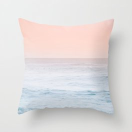 Pastel ocean mist #society6 Throw Pillow