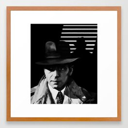 The Bogey Framed Art Print