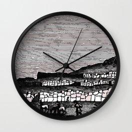 Fortress Walls Wall Clock
