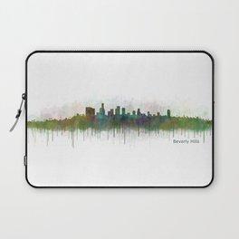 Beverly Hills City in LA City Skyline HQ v3 Laptop Sleeve