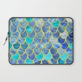 for julie, the mermaid birthday girl Laptop Sleeve