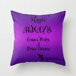 Magic! Throw Pillow