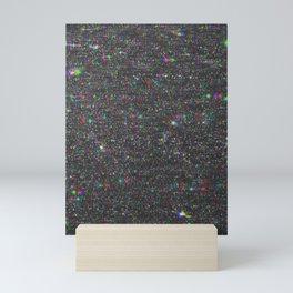 Glitter Glitch Mini Art Print
