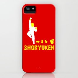 Ken Street Fighter iPhone Case