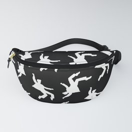 White Elvis Fanny Pack