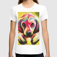 puppy T-shirts featuring Puppy by stepanka hejlova