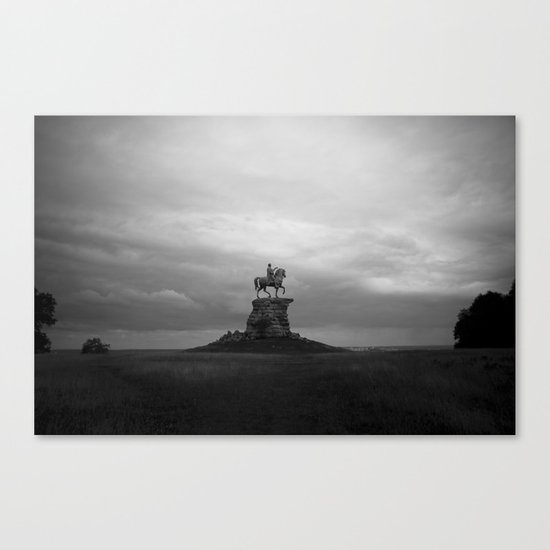 Watching out Canvas Print