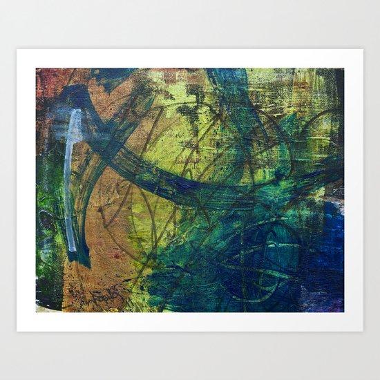 walls #3 Art Print
