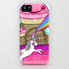 Unicorn and Ice Cream Kingdom iPhone (5, 5s) Slim Case