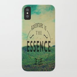 Essence Of Life  iPhone Case