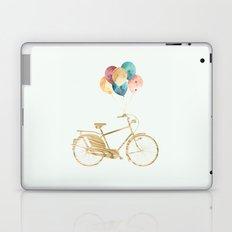 Bicycle & Balloons Laptop & iPad Skin