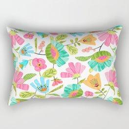Cut Flowers Rectangular Pillow
