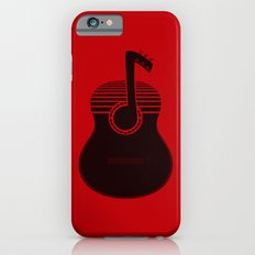 Classical Notes RED iPhone 6s Slim Case