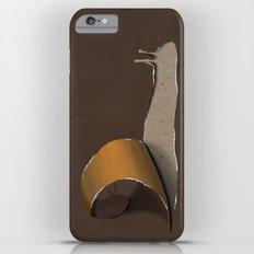 snail brown iPhone 6 Plus Slim Case