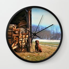 Remington, Yashica C, Ektar 100, Film, Medium Format Wall Clock