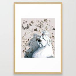 OES Framed Art Print