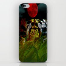 Tiger In the Night Under the Blood Moon iPhone & iPod Skin