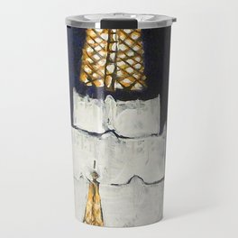 Oakland LDS Temple Tie Travel Mug