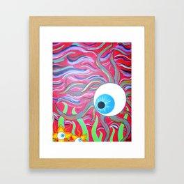 Eyeball in the Sky Framed Art Print