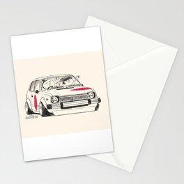 Crazy Car Art 0163 Stationery Cards
