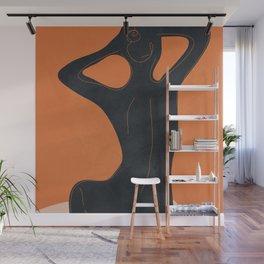 Abstract Nude I Wall Mural