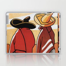 Mexico Travel - Men in Sombrero and Poncho Laptop & iPad Skin