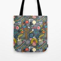 et Tote Bags featuring ET! by Chris Piascik