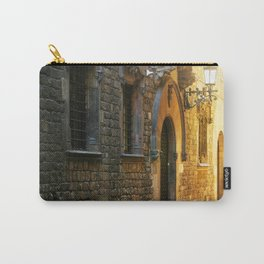 Barcelona - Early Morning in the Barrio Gotico Carry-All Pouch