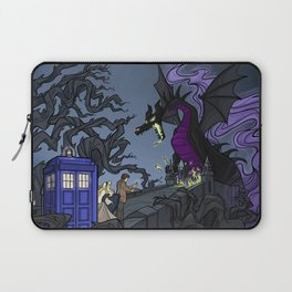 And Now You Will Deal with ME, O' Doctor Laptop Sleeve