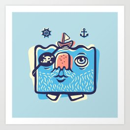 Sailor Man Art Print