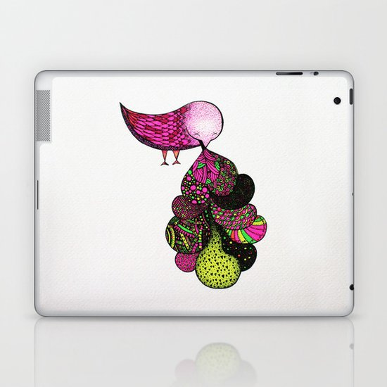 and your bird can puke canon Laptop & iPad Skin