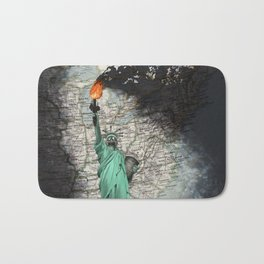 liberty oil Bath Mat