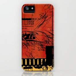 ANALOG ZINE / BETTER GIT IT IN YOUR SOUL iPhone Case