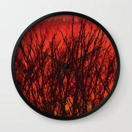 Sunscape Wall Clock