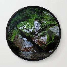 Peruvian Amazon III Wall Clock