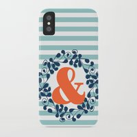 ampersand iPhone & iPod Cases featuring ampersand by ArigigiPixel