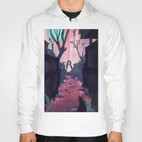 lovers Hoodies featuring Lovers by youcoucou