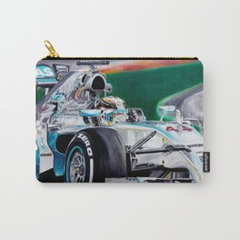 "Lewis Hamilton ""Focus On Lewis"" Carry-All Pouch"