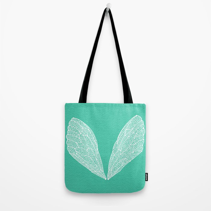 Cicada Wings – Turquoise Tote Bag
