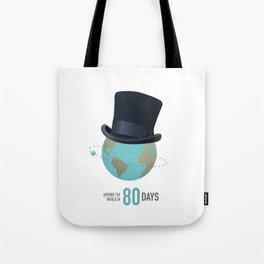 Around the World in 80 Days - Alternative Movie Poster Tote Bag