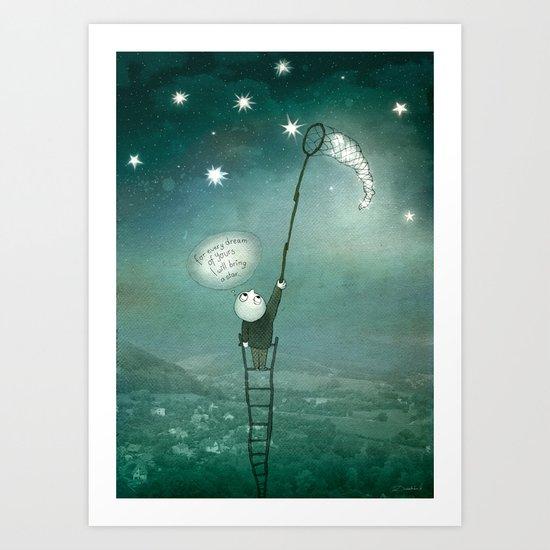 I will bring a star Art Print