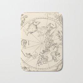Albrecht Dürer - The Southern Celestial Hemisphere (1515) Bath Mat