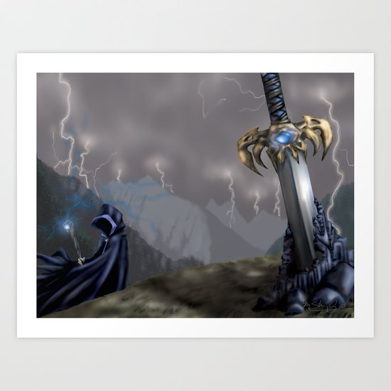 Rising Prophecy Art Print